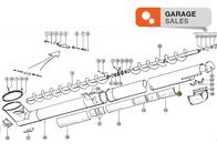 Prolongacion Del Tubo De Descarga CLAAS