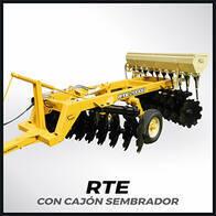 Rastra De Tiro Excéntrico Grosspal RTE 32.000 Con Cajón Sembrador