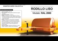 Rodillo Tbeh Liso RAL 2000