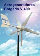 Aérogenerador 400W. 12 / 24 Vcc