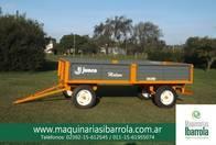 Acoplado Playo Rural Junco 4Mts. Maquinarias Ibarrola