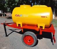 Acoplado Tanque Plastico 1.500 Lts - 1 Eje