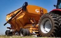 Acoplado tolva para semillas y fertilizantes 26.000 kg.