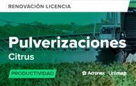 Acronex Unimap Pulverizaciones Citrus Productividad - Renovación