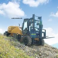 Autoelevador Cpcy 35 4Wd Todo Terreno