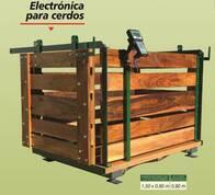 Báscula Electrónica Para Cerdos.