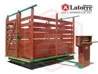 Báscula para hacienda de 3.000Kg Básculas Latorre