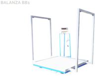 Balanza Electrónica Para Big Bag Modelo Bb1