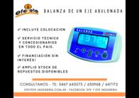 """Balanza Para Monotolvas - Inalambrica Con Tablet 7"""""""