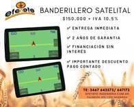 Banderillero Satelital Instalado C/viaticos Efe Y Efe