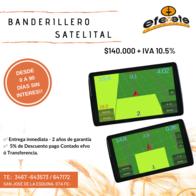 """Banderillero Satelital Nuevo Modelo 7"""" Efe Y Efe"""