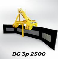 Barredora De Goma Grosspal Bg 3P 2500
