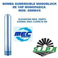 Bomba Sumergible Monoblock