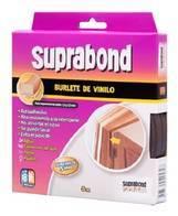 Burlete De Vinilo Autoadhesivo Suprabond 5 M Blanco