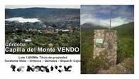 Terreno De 1.600 M2 En Capilla Del Monte, Córdoba