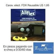 Caravanas Electronicas Fdx Reusables Allflex Usd 1,85