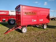 Carro Taller Agro Fénix De 4Tn De Capacidad Rojo