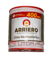 Cinta Electroplastica 400Mt Arriero 5Hebras Boyero 12Mm