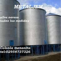 Colonia Menonita.silo Aereo De 100 Toneladas Oferta