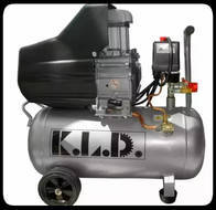 Compresor De Aire Sin Aceite 50Litros Kld