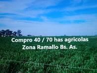 Compro 40 / 70 Has Agricolas