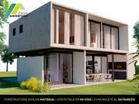 Casa Sustentable. Construcción Modelo De 3 Dormitorios