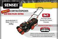 Cortadora Cesped Sensei 20 520 Bagplus 3En1 6.8Hp