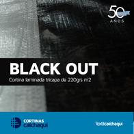 Cortina Laminada Calchaqui Black Out