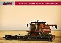 Cosechadora Case IH Axial Flow 8230/9230 Extreme