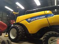 Cosechadora New Holland Cr 6.80 Draper 35P 4X2 Año 2020