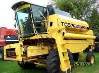 Cosechadora New Holland TC 57 - Año 1996