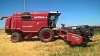 Cosechadora Vassalli Ax 7500 2013 - 35 Pies - Excelente