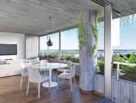 Departamento 3 Ambientes 106 M² En Costavia Emprendimiento Inmobiliario Rosario Unidad 08-04
