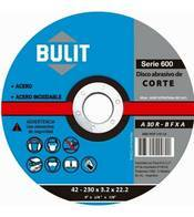 Disco De Corte Bulit Serie 600 Para Amoladora 230Mm