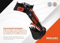 Excavador Dynamic Pecari Rs 450 Para Minicargadora