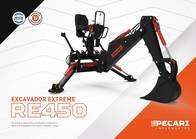 Excavador Extreme Pecarí Re 450 Para Minicargadora