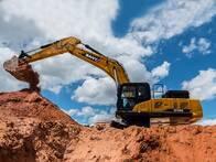 Excavadora Sy365H, Desde