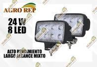 Faro Led Alta Potencia 24 W