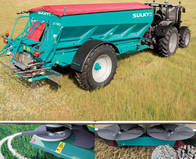 Fertilizadora Sulky Xt 130
