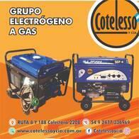 Gran Oportunidad Grupo Electrógeno 5500W Gas