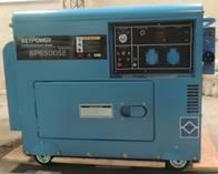 Grupo Electrógeno Diésel De 5000Kva Insonorizado