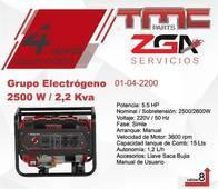 Grupo Electrogeno Tmc 2500W / 2,2 Kva