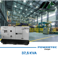 Grupo Generador Powertec 37.5 Kva - Con Motor Cummins