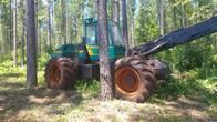 Procesador Forestal Sobre Neumáticos Logman 801 - 4X4