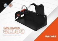 Garra Industrial Pecarí Gi 180 - Para Minicargadora