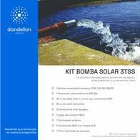 "Kit Bomba Sumergible Solar 3"" - Hasta 20 Litros/minuto"