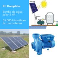 Kit Completo Bomba De Agua De Superficie Handuro 2 HP 55.000L/h