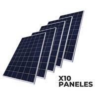 Kit De 10 Paneles Solares De 400W