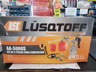 Kit De Compresor 5 Piezas Lusqtoff Modelo Aa-5000K
