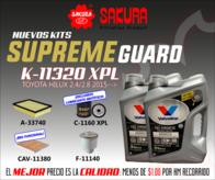 Kit De Filtros Sakura K-11320 Xpl Valvoline Hilux 2015
